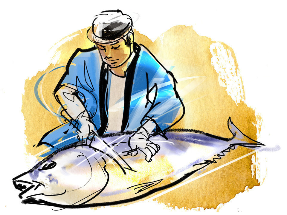さばけるオトコがモテる!魚を自分でさばける男性に女性の約8割が胸キュン!