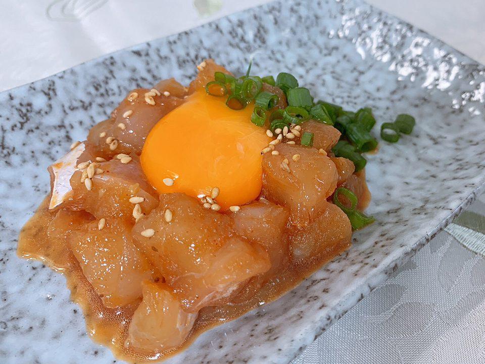 【レシピ】切って混ぜて漬けるだけ!「カサゴの韓国風ユッケ」