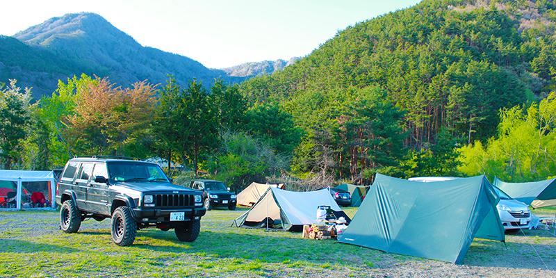 【キャンプレポート】西湖自由キャンプ場