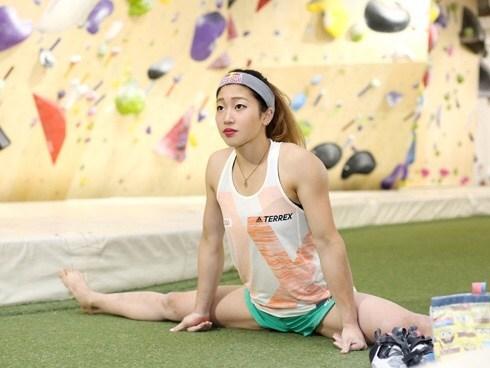 ボルダリングにも活きる骨盤を立てる方法