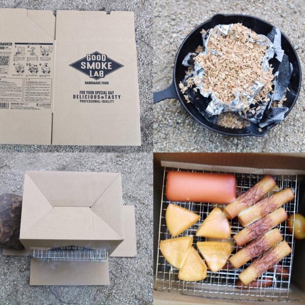 キャンプで燻製の作り方!100均(セリア)の燻製器でも美味しくできる!卵などおすすめ食材の紹介も