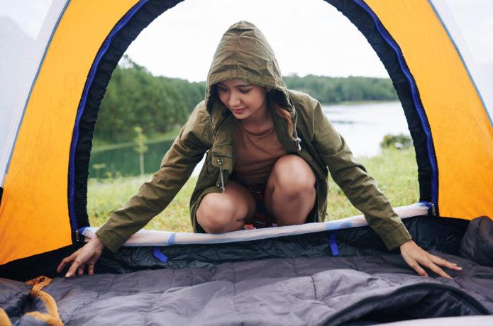 厚さたった2ミリの「テントマット」があると、テント泊はこう変わる!