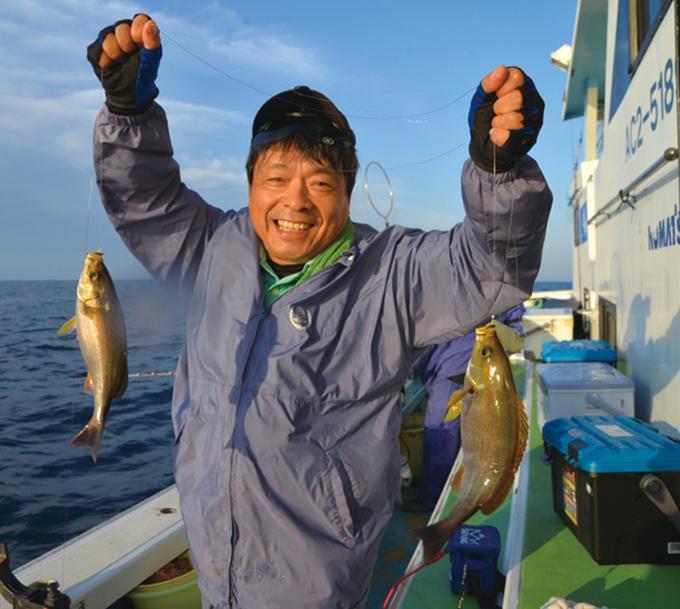 【大山沖】シーズン開幕! 釣味と食味を求めて良型イサキ狙い!