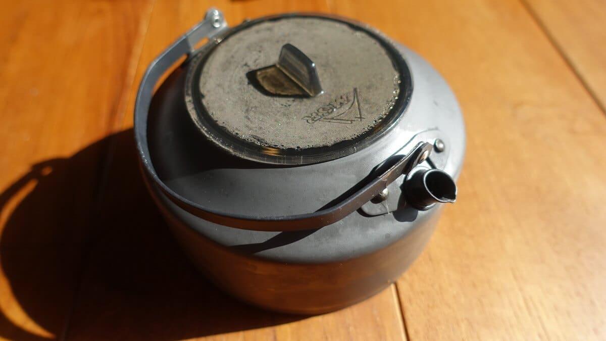 MSR PIKA 1 L 容量1L の軽量なアルミ製ティーポット
