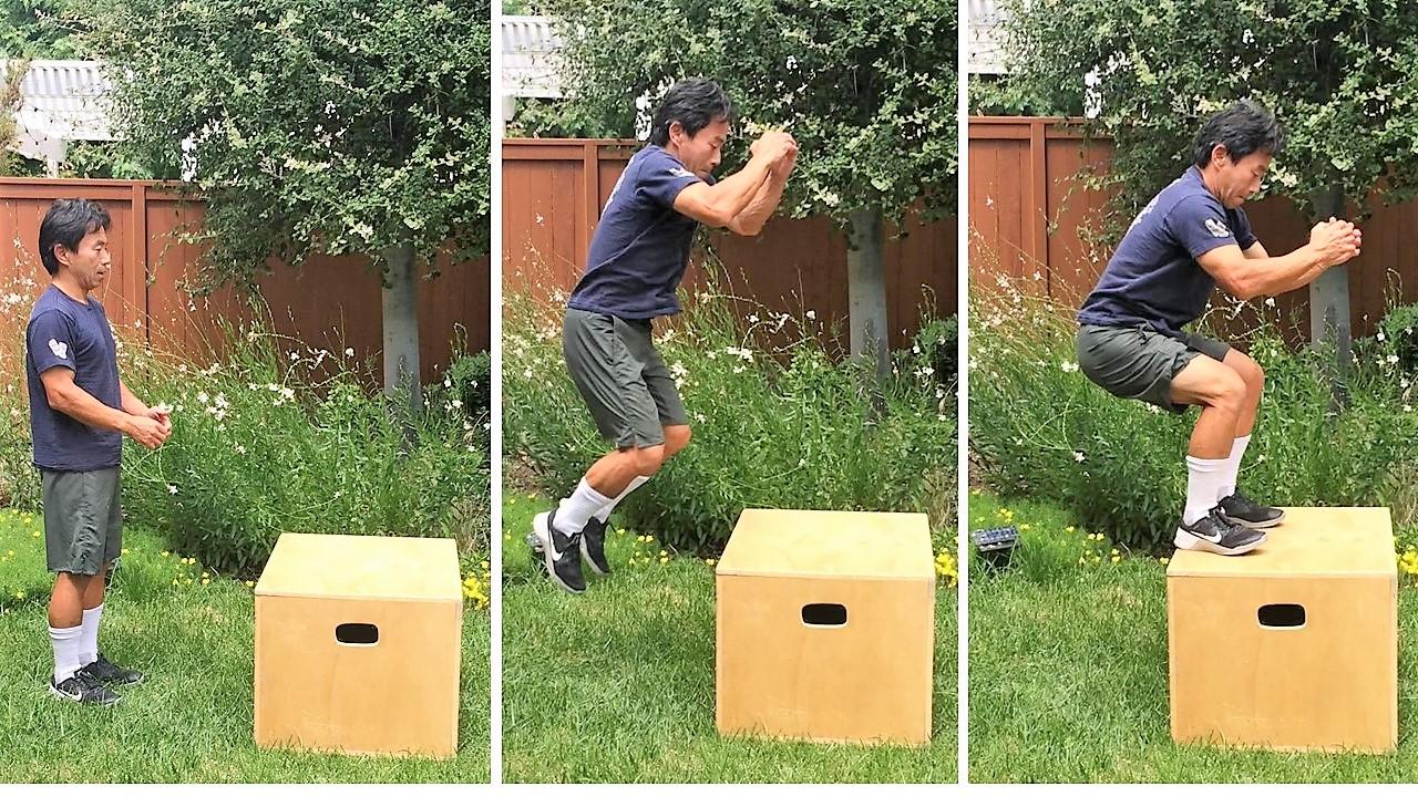 プライオメトリクスで筋力強化。瞬発力を鍛えるトレーニング「ボックスジャンプ」、やり方と効果を高めるポイント
