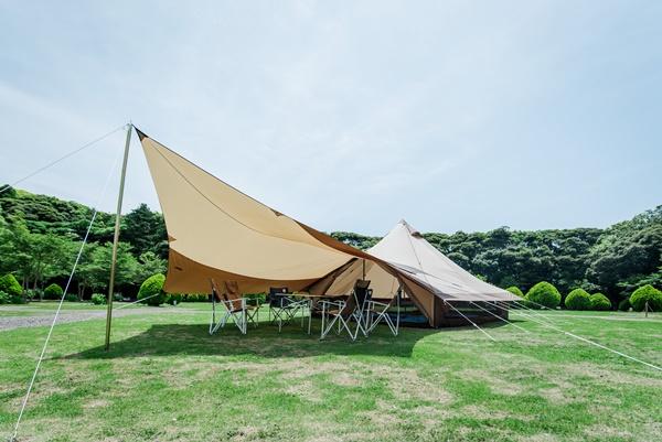 【なっぷ×ogawa】共同開発!グロッケ24に泊まる手ぶらキャンプ!