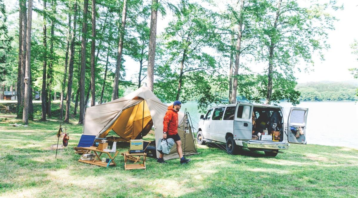 愛用ウェアは15年選手、生粋のアウトドアマン流『長く続けられるキャンプの楽しみかた』