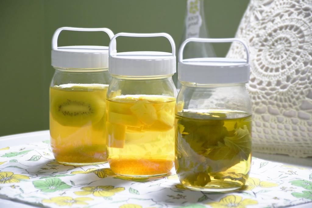 炭酸水や牛乳とも好相性。夏バテ予防に試したい、手づくりお酢ドリンク「酢ロップ」