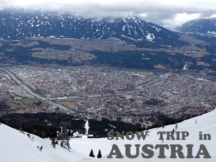 スキー大国オーストリア:空から町へダイバーシティなスノートリップ
