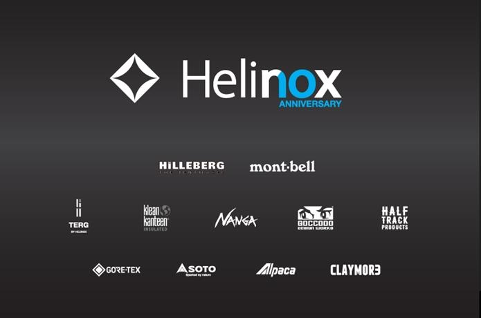 ヘリノックス10周年記念ポップアップストアが9月オープン!争奪戦必至の豪華コラボアイテムが凄い【アウトドア通信.445】