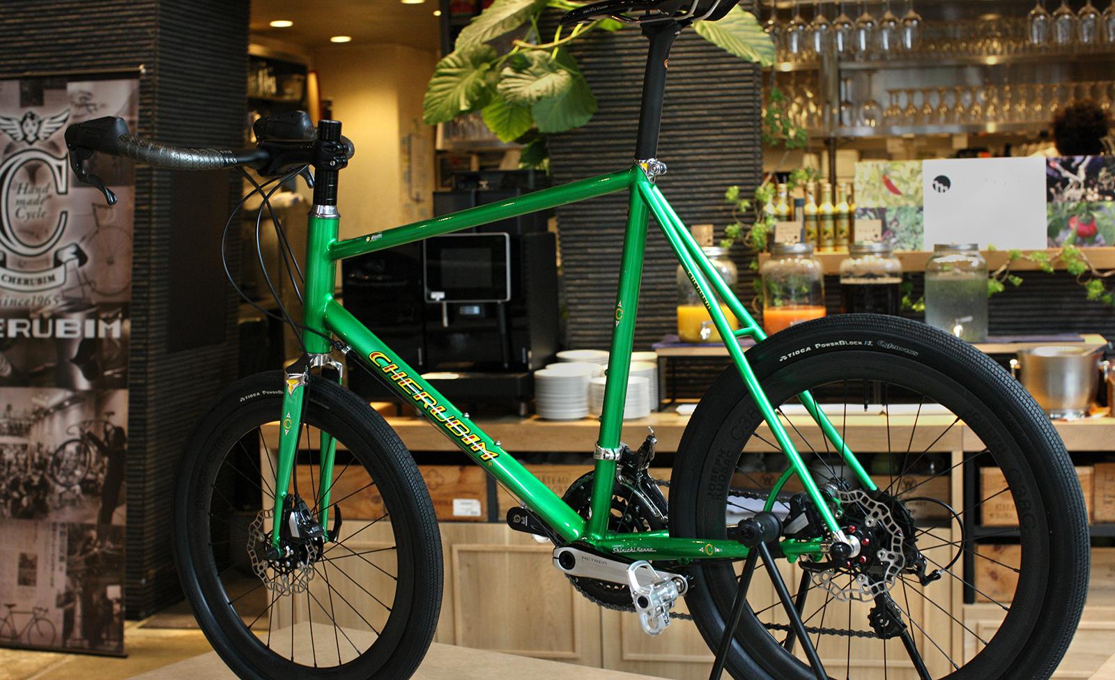 ミニベロはセカンドバイクや街乗り専用ではない CHERUBIMの考える競技志向のミニベロ「CR」