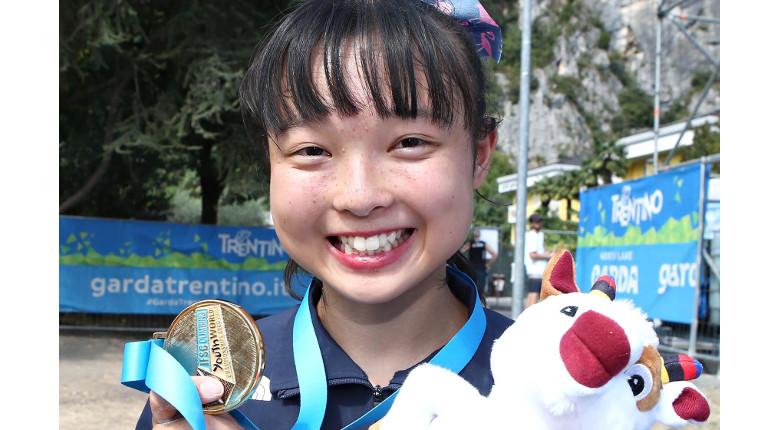天笠、百合草、関口、平野が金。国別メダル数で日本が圧勝/IFSC世界ユース選手権2019【コンバインド】