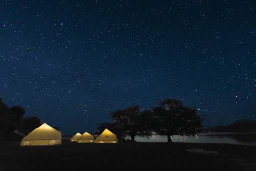 鳥取の旬の果実の収穫体験と星空ディナーを楽しむ農泊グランピングイベント