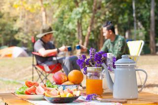 キャンプでフレッシュジュース!レシピと美味しく飲む方法