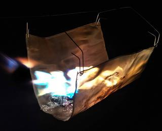 <DIYシリーズ>ちょっとワイルドに!吊るし型焚き火台を作ってみた