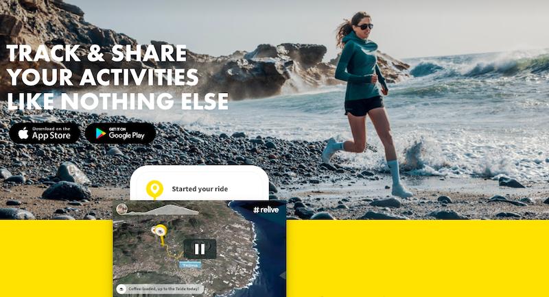 Relive(リライブ)でマラソンのコ-ス紹介動画のようなランニング記録をアプリのGPSデ-タや写真から作成する方法