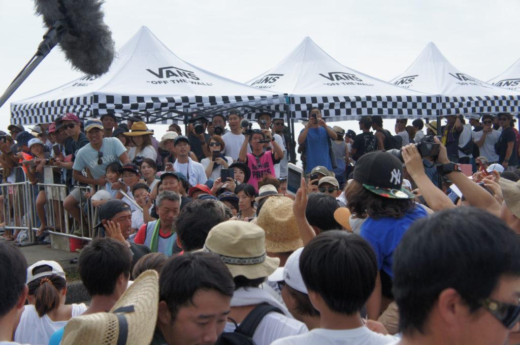 近年最大級の盛り上がりを見せたISAワールドサーフィンゲームス。宮崎で感じたギャラリーの熱量。