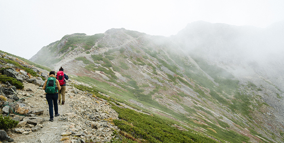 Mountain Journal vol.29 ランクス28とデール28で登る、紅葉の仙丈ヶ岳