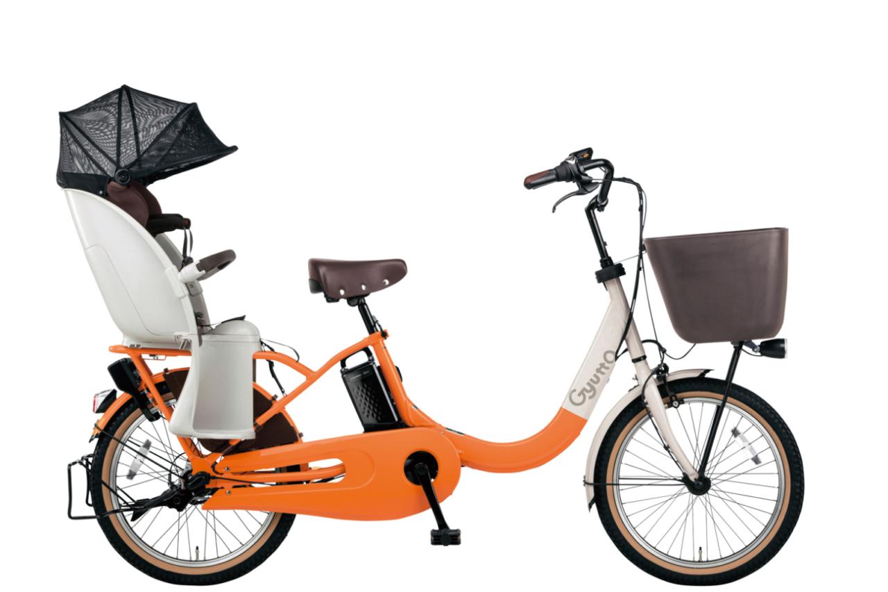 パナソニックとコンビが共同開発の子供乗せ電動アシスト自転車「ギュット・クルームR」シリーズが登場