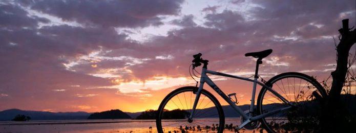 琵琶湖のサイクリングルート「ビワイチ」がナショナルサイクルルート第1号に指定!