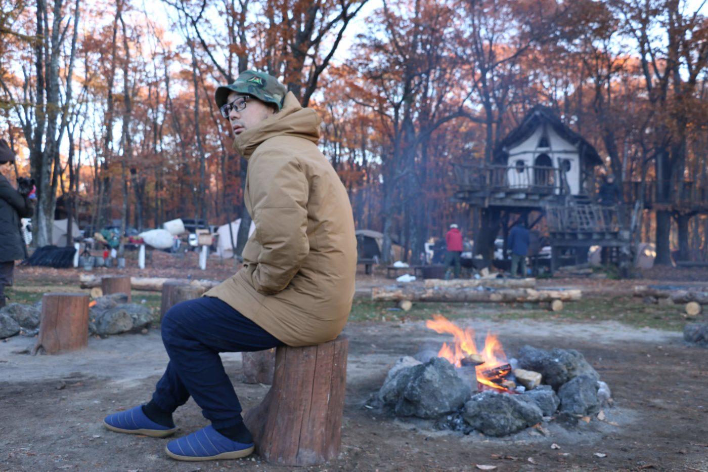 【秋冬キャンプの服装】ユニクロの2019年新作ダウン「ハイブリッドダウンパーカ」が優秀すぎてぜひ着てみて欲しい