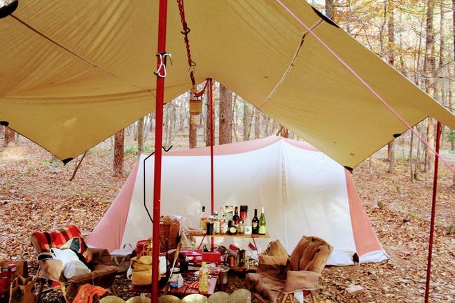 ファミマ食材でキャンプ!外飯1.5倍の法則を証明するコンビニ食材キャンプ