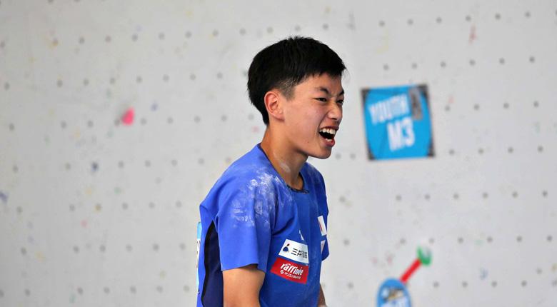 本日からクライミングアジアユース選手権2019重慶大会 <コンバインド> が開催