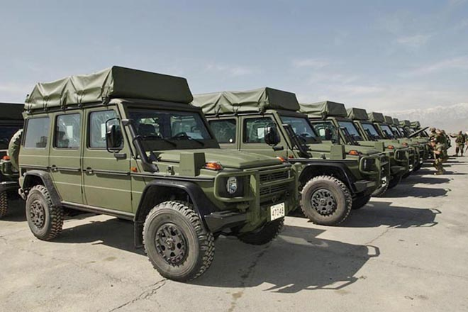 G-CLASS and MILITARY オーストリア軍ほか欧州軍隊が装備する