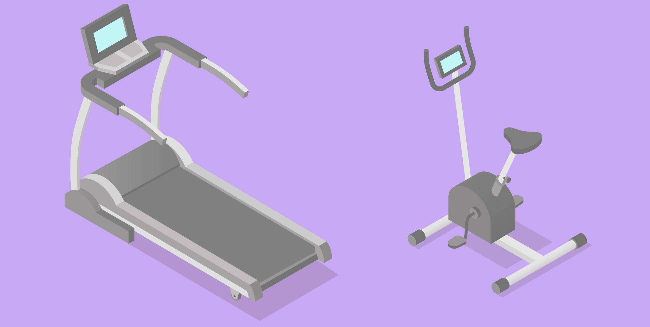 トレッドミルとエアロバイク、どっちが脂肪燃焼できる?メガロストレーナーが解答