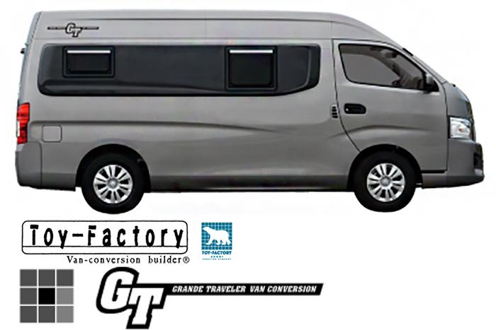 TOY-FACTORY/トイファクトリー「GT NV350 キャラバン」