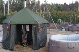 【体験レポ】テントサウナに初挑戦! 千葉の農園キャンプ場THE FARM(ザファーム)でキャンプしながらリラックス