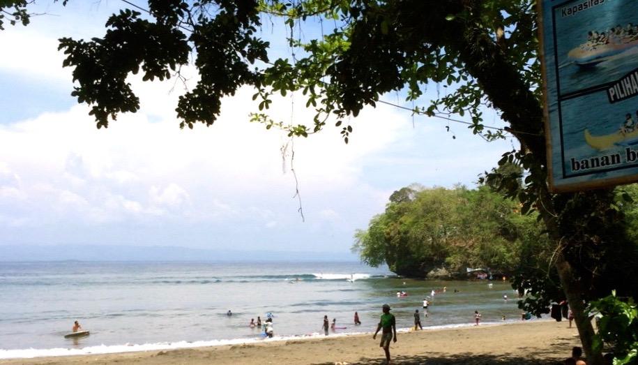 パワースポット『バツカラス』のロングライトブレイク!浜瀬海サーフィン映像