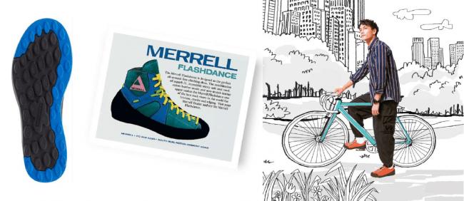 MERRELL(メレル)、クライミングシューズの遺伝子を継承したスニーカー「CREW CANVAS」発売