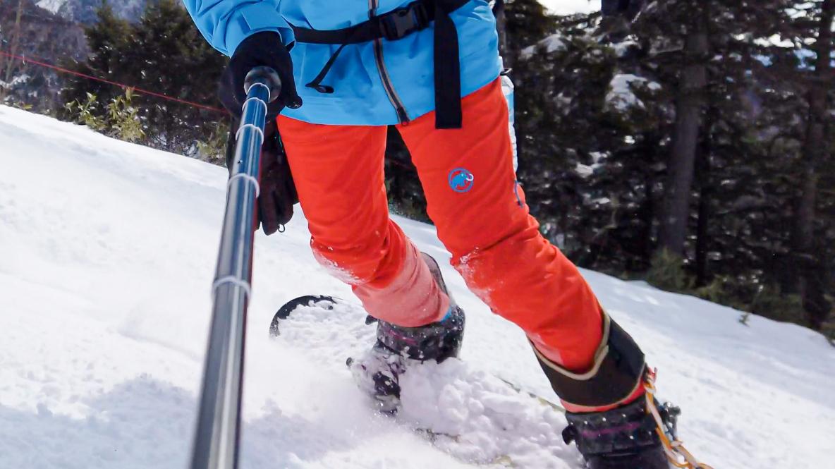 MAMMUTのパンツ1本持っていれば、登山からウィンタースポーツまで快適に過ごせるんだ|マイ定番スタイル