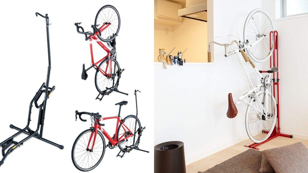 自転車縦置きで室内保管!おすすめロードバイクスタンド2厳選