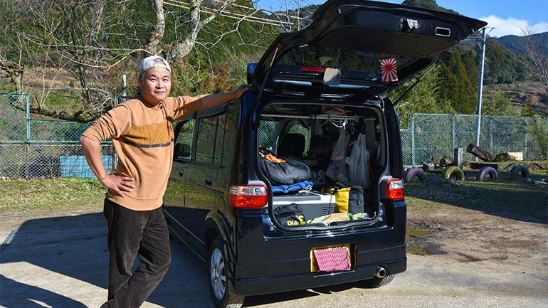 走行距離は地球2周分!軽自動車で日本全国をビュンビュン走る!HONDAザッツオーナーインタビュー