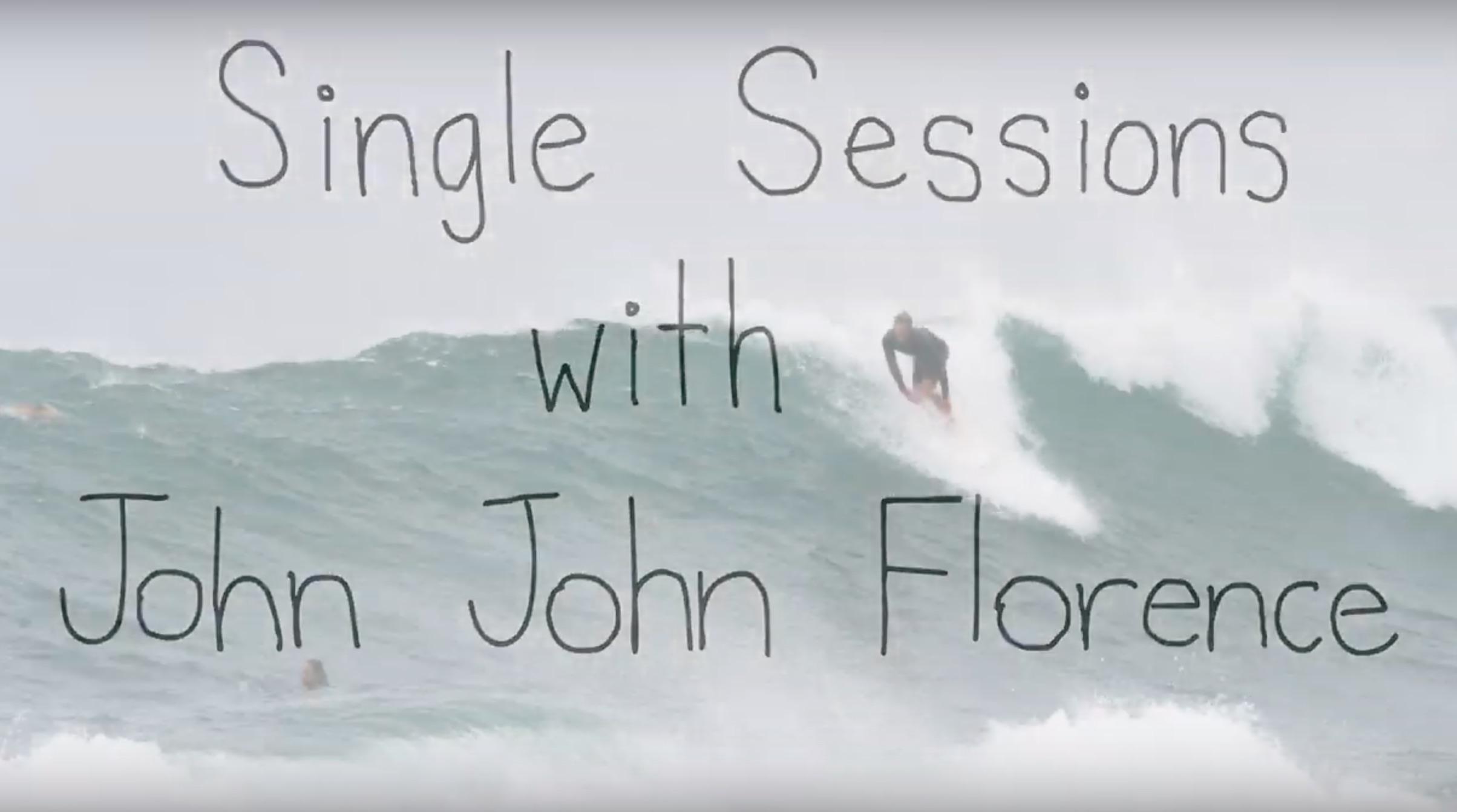 【鬼必見動画】John John、Nathan、Ivan FlorenceにKiron Jabourによるハレイワ・フリーセッション