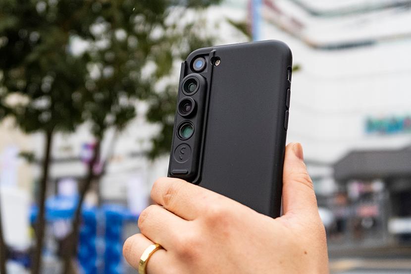 【レビュー】レンズ付きiPhoneケース「シフトカム」を自腹買い!