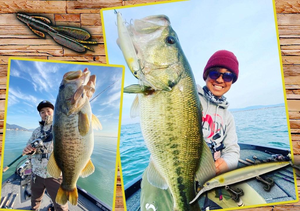 【キーワードはベイトとエリア】イマ琵琶湖で効いてる「ボトム系の釣り」と「巻き物の釣り」をご紹介!