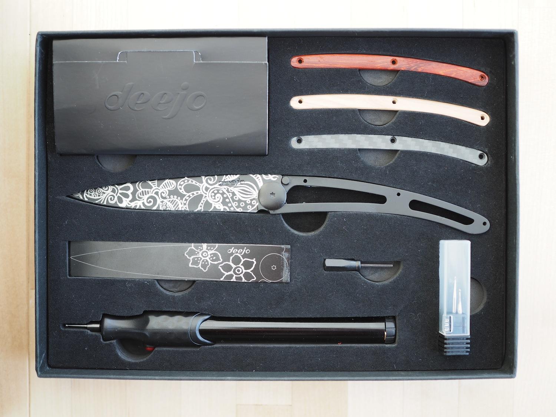 自宅で作ろう!あなただけのオリジナルナイフ。【Tatoo your deejo box】