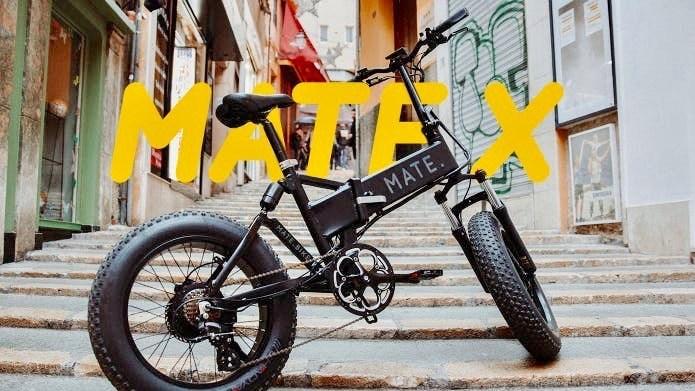 世界で18億円超の販売実績!オフロード対応 折り畳み式アシスト自転車「MATE X」の日本限定モデルが登場!