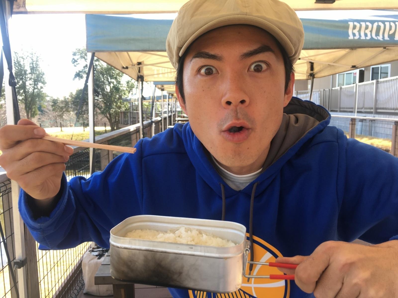 【お願い!たけだバーベキュー】第5弾「加熱器具がなくても、飯盒でお米は炊けますか?」