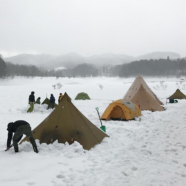 雪中キャンプ用のショベルについて検討してみた