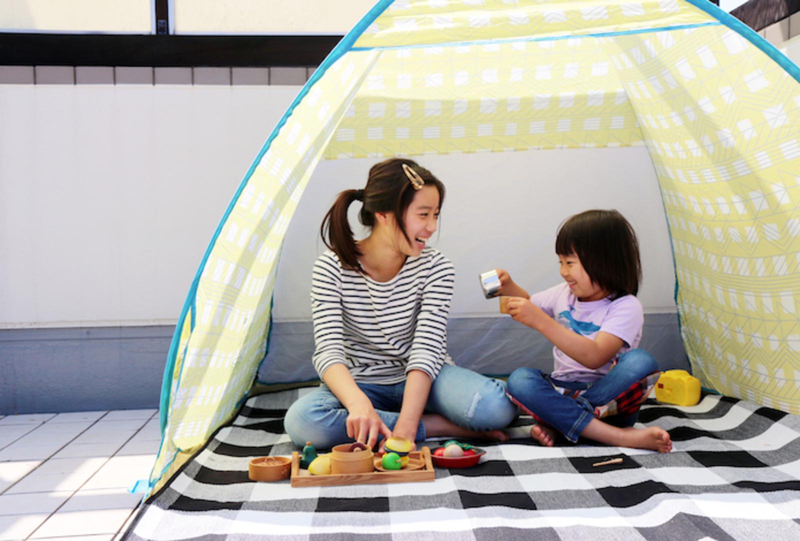 【おうちキャンプ】テントを広げてキャンプ料理を楽しむ!! ソトレシピ的〝おうちキャンプ5カ条〟