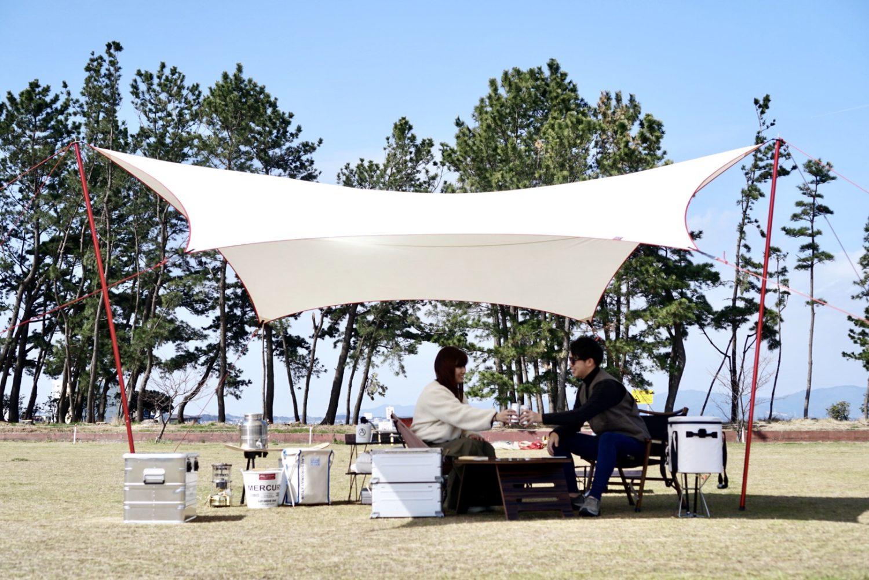 導線意識!収納確保!整頓されたテントサイト作りのためのこだわりは?