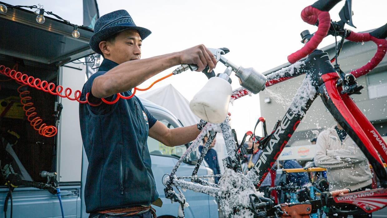 自転車の洗車・コーティング専門店、現る!「ラバッジョ」が大阪府豊中市に5月9日(土)グランドオープン
