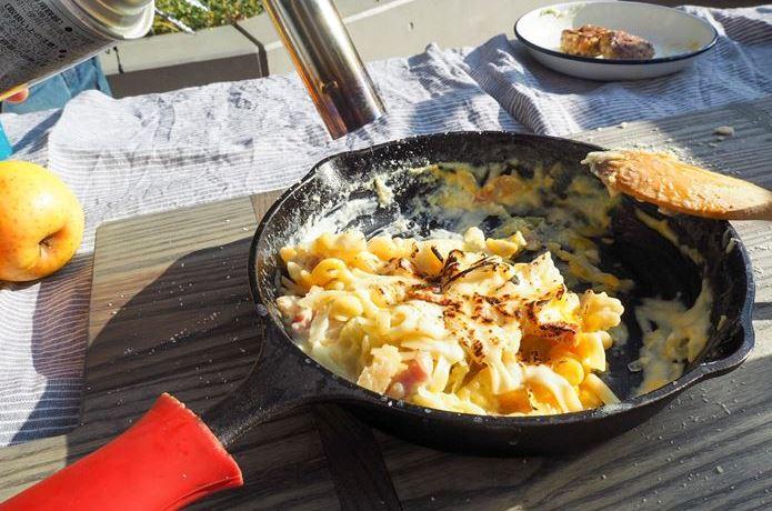 Blue Kitchenのフォトジェニックな季節料理 #03 豪快ロールキャベツ&カルボナーラ