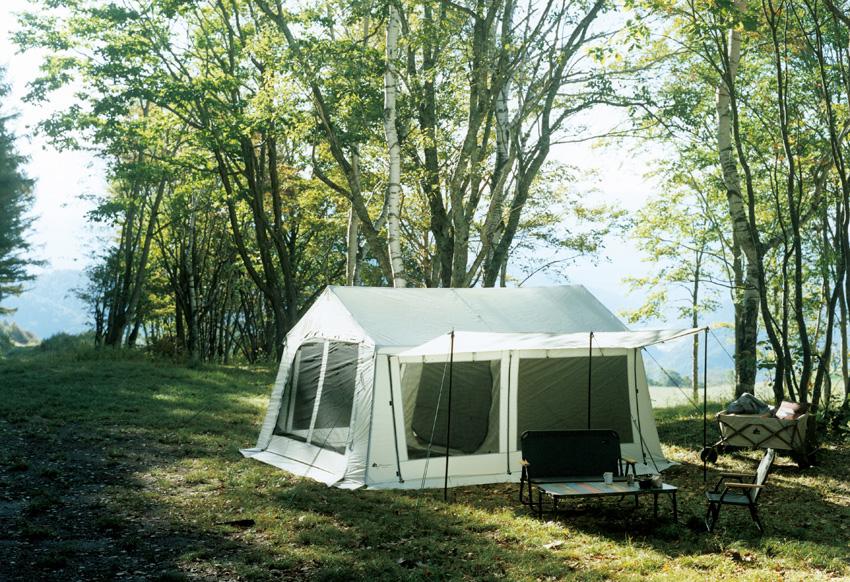アウトドアの歴史が1周?! ロゴスのコテージ型テントが新たなキャンプ様式を先導!