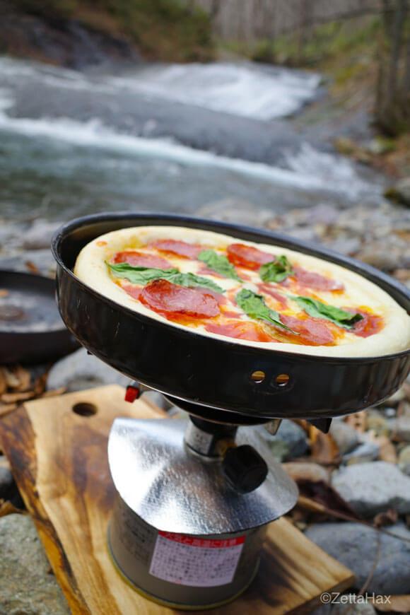 ソロキャンプや登山に最適!世界最小のモバイルピザ釜「PizzaHax(R)」を新発売