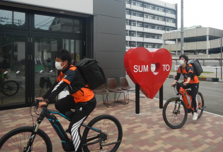 パナソニックが兵庫県洲本市「出前プロジェクト」向けに、Eバイクの無償レンタルを実施